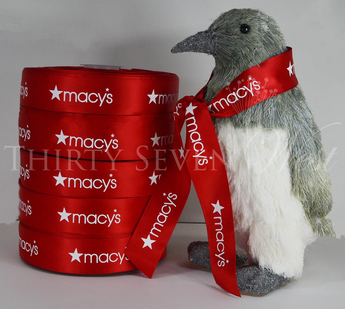 Macys Ribbon, Pantone Matched Ribbon, Corporate Ribbon, Custom Pantone Ribbon