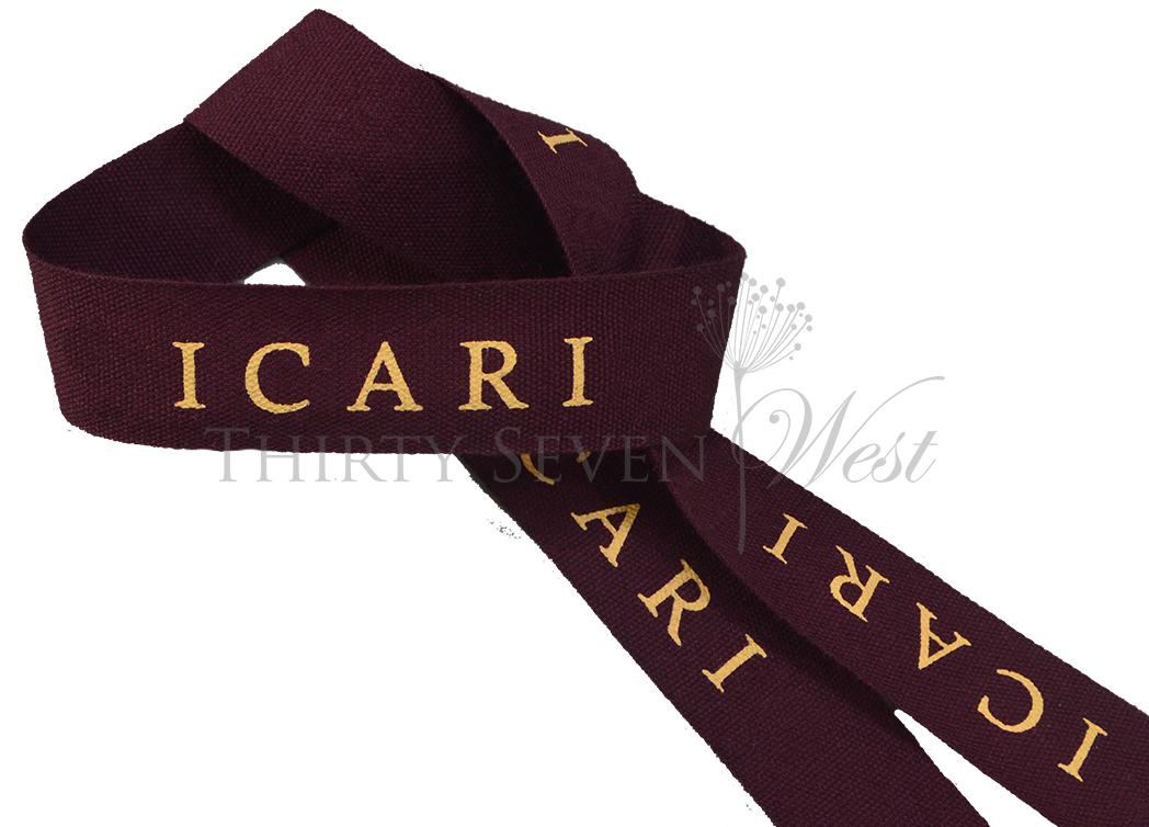 Custom Dyed Cotton Ribbon, Pantone Color Ribbon, PMS Ribbon, Cotton Ribbon, Custom Logo Ribbon