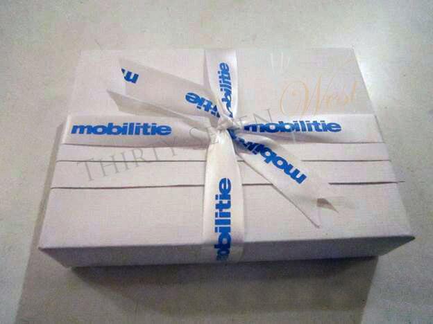 Mobilitie Ribbon, Full Color Ribbon, Company logo Ribbon, Company Printed Ribbon, Custom Printed Ribbon, Satin Logo Ribbon
