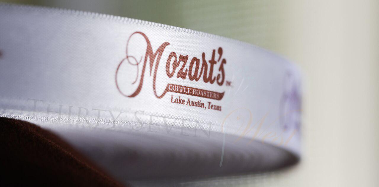 Customized Multi-colored Ribbon, Company Logo Ribbon, Mozart's