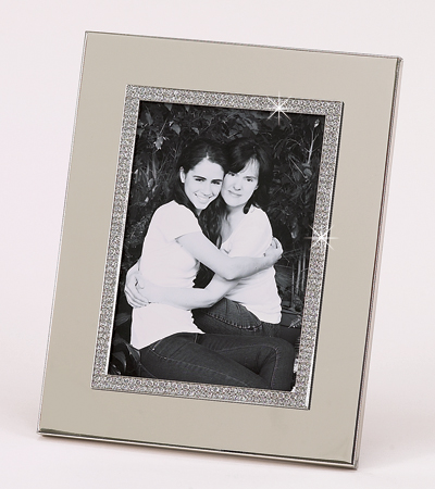 5x7 All That Glitters Picture Frame with Metal Border