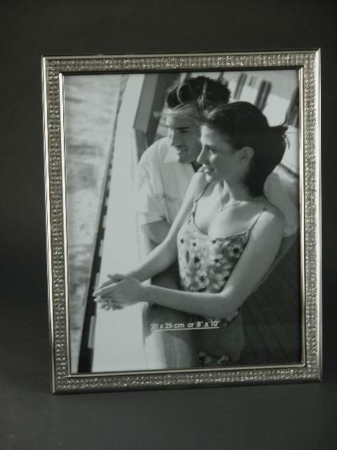 5x7 Nickel Plated All That Glitters Picture Frame