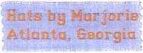 100% Cotton Woven Labels - Style F650 (2 Lines)