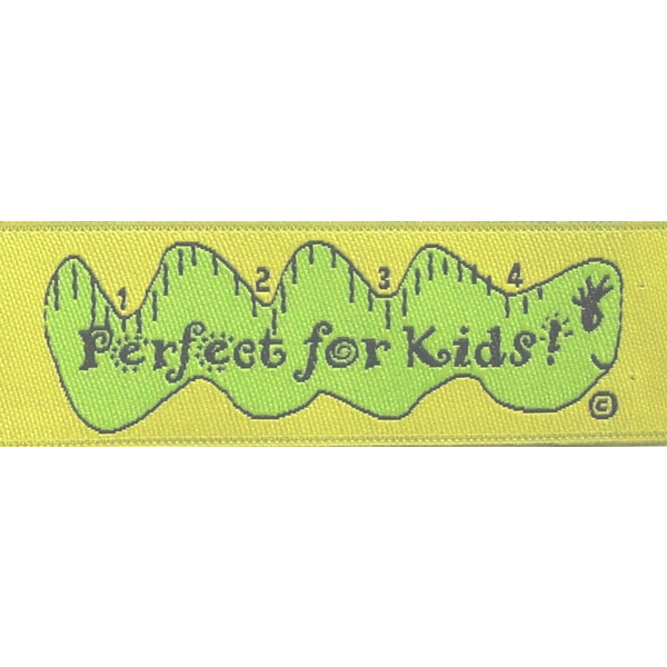 Inch by Inch Into Your Heart! Fabric Clothing Labels