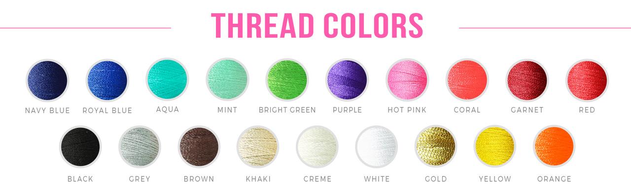 Thread Colors for Monogram
