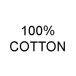 100% Cotton Content Labels