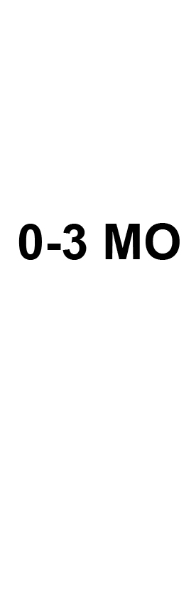 0-3 Mo Size Tabs