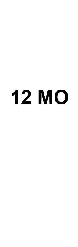 12 MO Size Tabs
