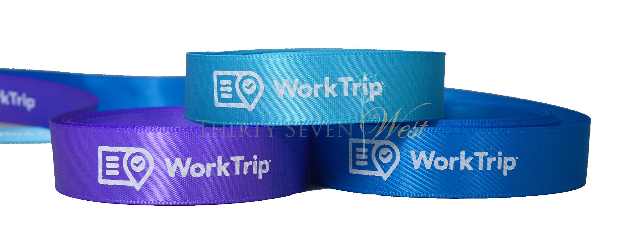 """5/8"""" Custom Logo Ribbon, Company Logo Ribbon, Logo Ribbon, Custom Ribbon, Company Logo Ribbon , Printing Ribbon."""