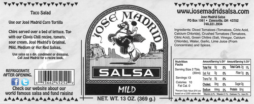 Original Mild Salsa