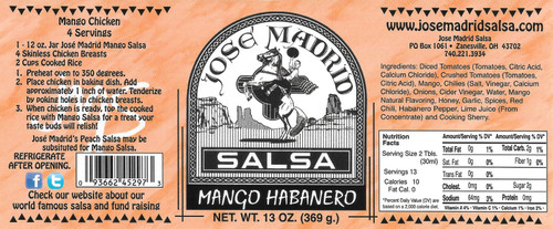 Mango Habanero