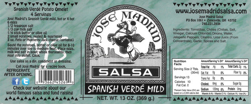 Spanish Verde Mild