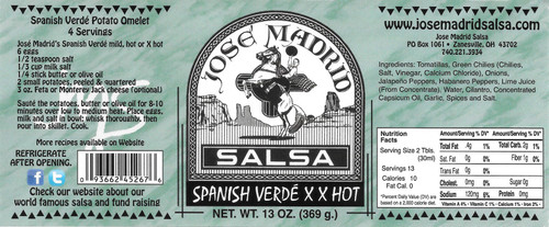 Spanish Verde XX Hot