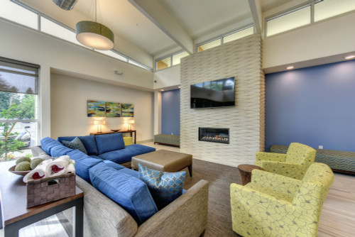 Commercial project for  Madison Bellevue Apartments in Bellevue, Washington.