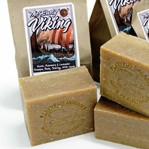 The Rusty Viking - Shampoo - Body - Shave Soap