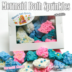 Bubbling Mermaid Sprinkles  - 100g