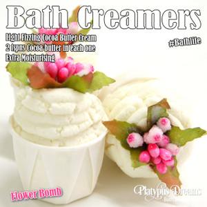 Flower Bomb Bath Creamer 45g