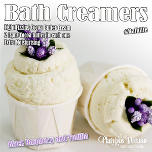 Black Raspberry & Vanilla Bath Creamer 45g