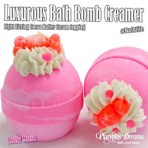 Lolly Musk - Bath Bomb Creamer 170g