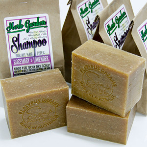 Herb Garden - Natural Shampoo Soap - Rosemary and Lavender