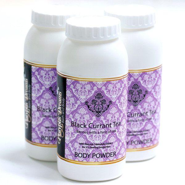 Black Currant Tea Body Powder