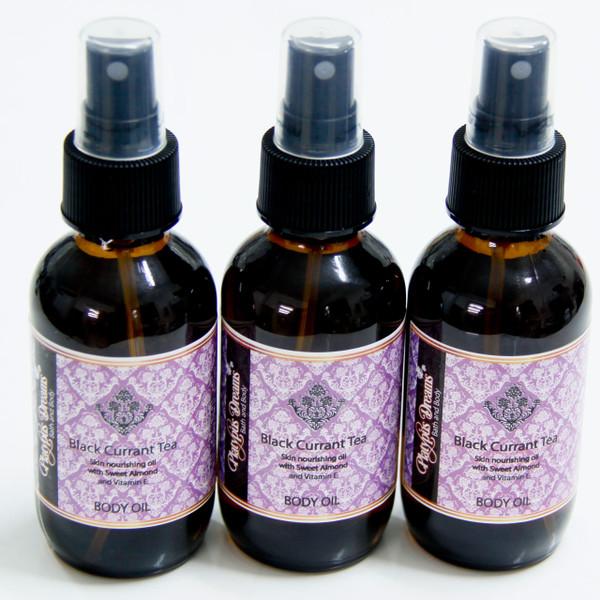 Black Currant Tea Body Oil Spray