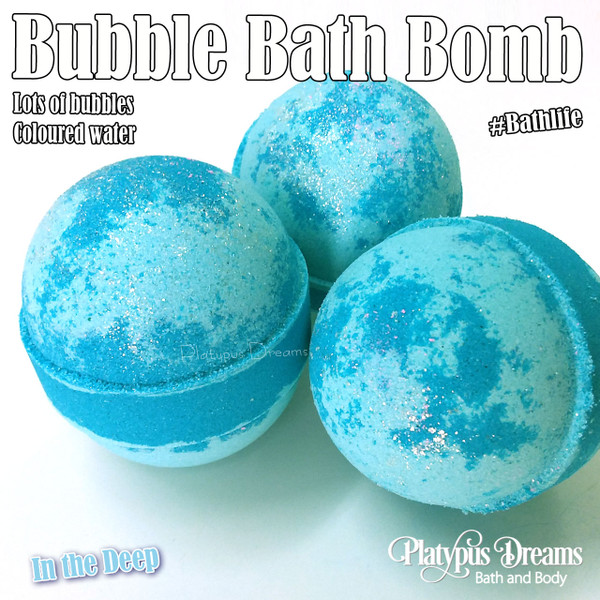 In the Deep Bubble Bath Bomb 190g