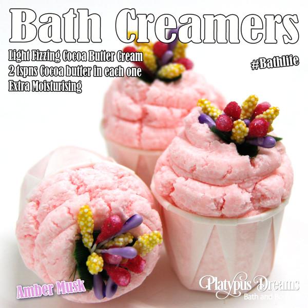 Amber Musk Bath Creamer