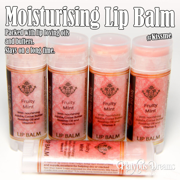 Fruity Mint Lip Balm