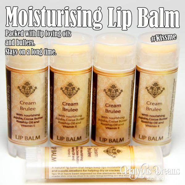 Creme Brulee Lip Balm