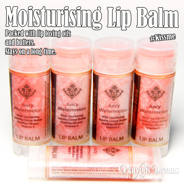 Juicy Watermelon Lip Balm