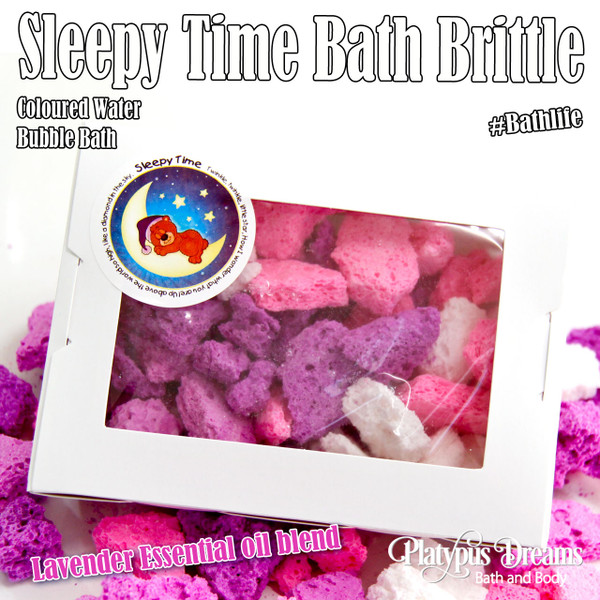 Bubbling Sleepytime Bath Brittle  - 100g