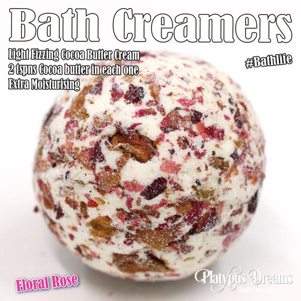 Floral Rose Bath Creamer 45g