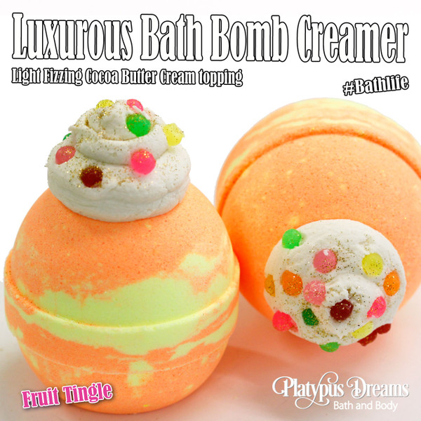 Fruit Tingle - Bath Bomb Creamer 170g