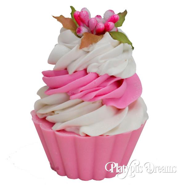 Floral Cupcake Soaps - Pink