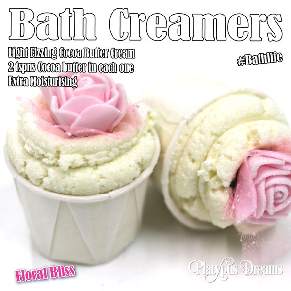 Floral Bliss Bath Creamer 45g