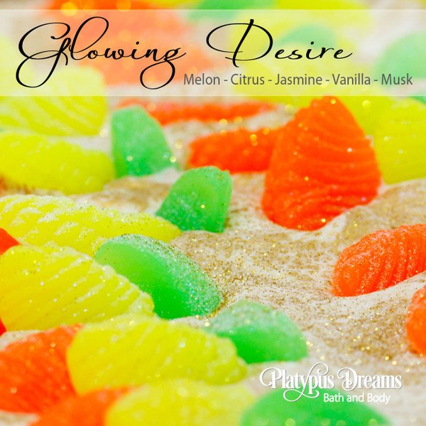 Glowing Desire Gourmet Soap