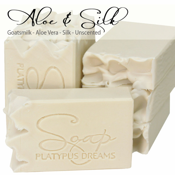 Aloe & Silk Gourmet Soap