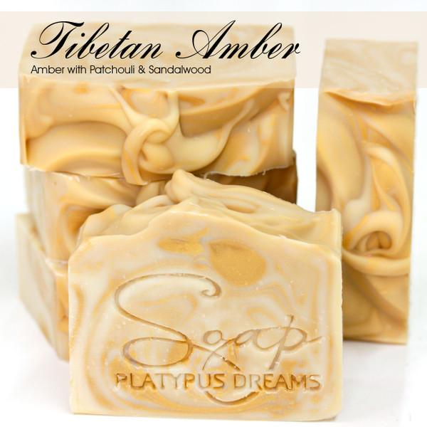 Tibetan Amber Gourmet Soap