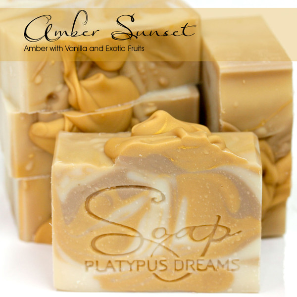 Amber Sunset Gourmet Soap