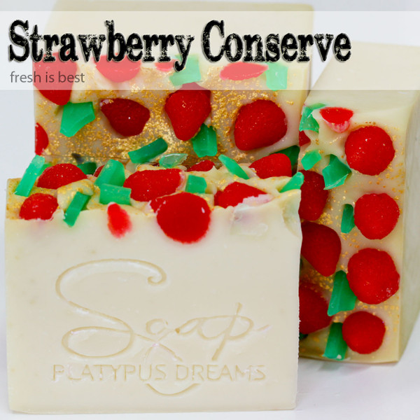 Strawberry Conserve Gourmet Soap