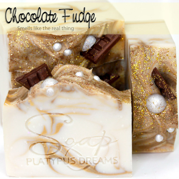 Chocolate Fudge Gourmet Soap