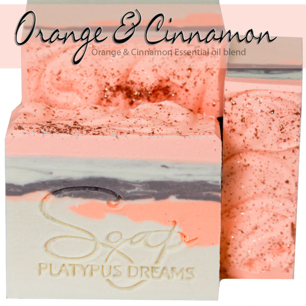 Orange & Cinnamon Gourmet Soap