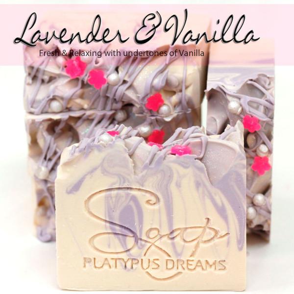 Lavender & Vanilla Gourmet Soap