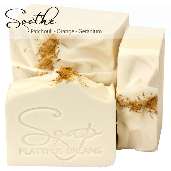 Soothe Gourmet Soap - Essential oils only
