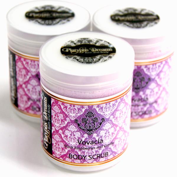 Black Raspberry and Vanilla (Vovacia) Sugar Scrub