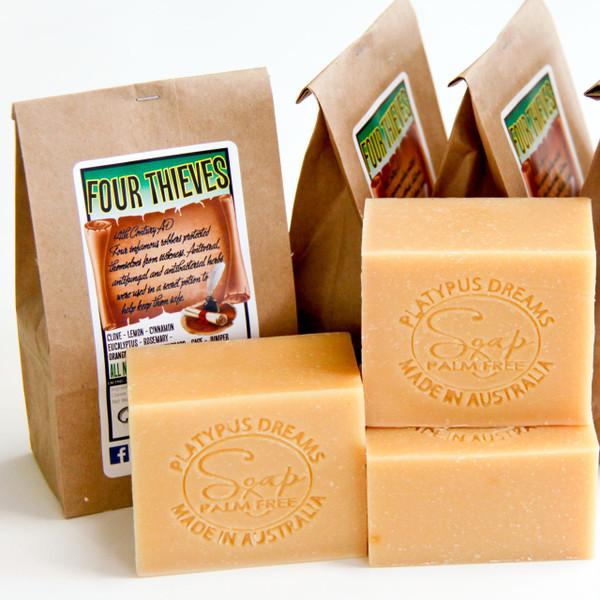 Four Thieves Palm Free Soap
