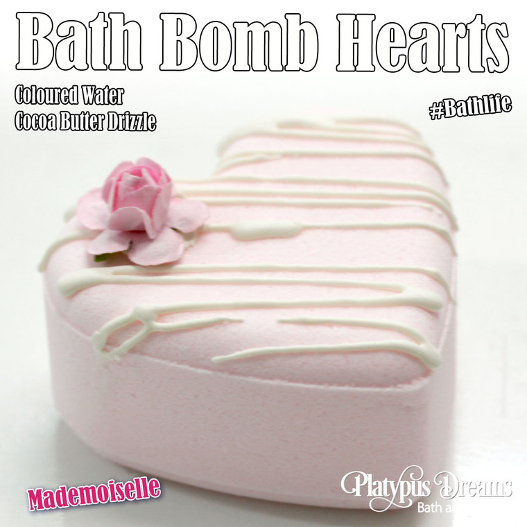 Mademoiselle Bath Bomb Love Heart