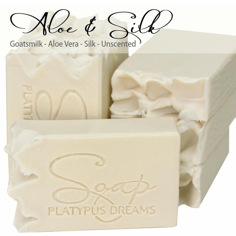 Aloe & Silk Gourmet Soap