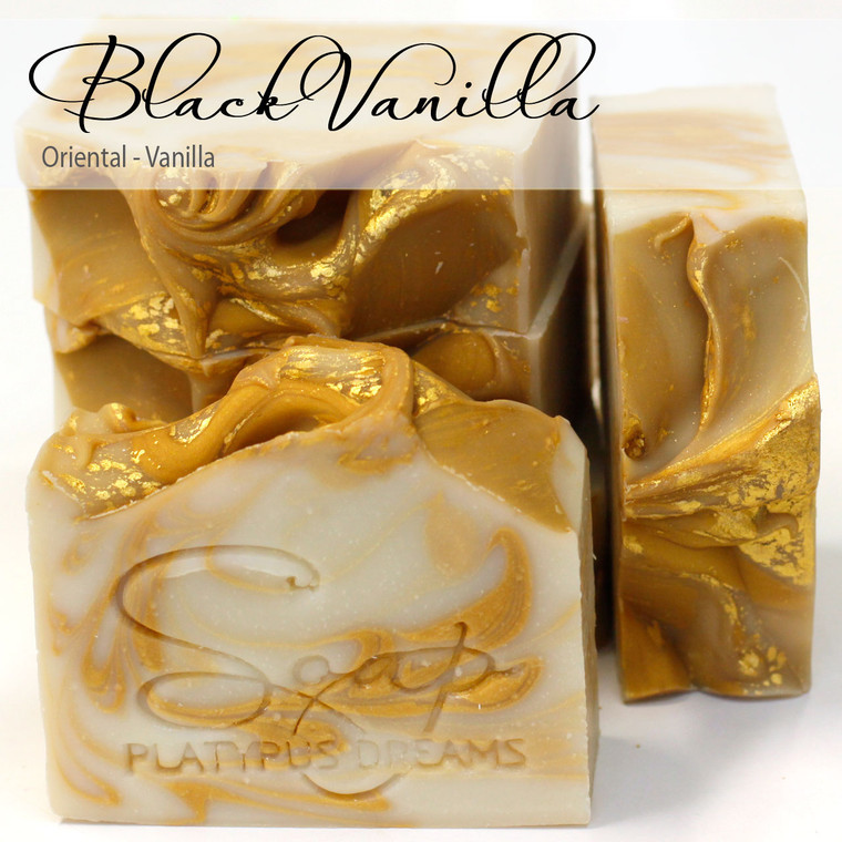 Black Vanilla Gourmet Soap